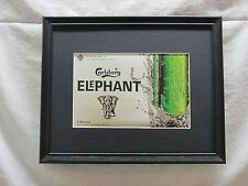 CARLSBERG ELEPHANT  BEER SIGN  #839