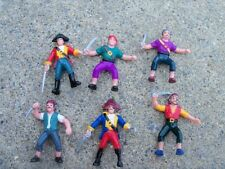 12 Pirate Figures  Bandits Toy Party Favors Cake Decoration