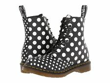 Dr. Martens Women Chay 1460 8-Eye Black White Polka Dots US 9 EU 41 UK 7 LAST!!