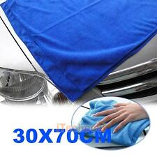 Blue Car Auto Wipe Microfiber Cloth Wash Cleaner Chamois Cleaning Towel  Tool