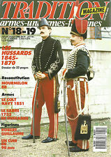 TRADITION  N°18-19 LES HUSSARDS 1845-1870 / MOURMELON 88 / COLT / NAVY 1851