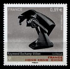 Das Pferd, Skulptur von Raymond Duchamp-Villon (1876-1918). 1W. Frankreich 2012