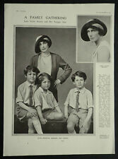 Lady Violet Catherine Manners Benson 1931 Photo Article 6215