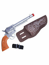 COWBOY GUN (SINGLE) + HOLSTER TOY FOR FANCY DRESS PARTY