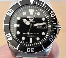 SEIKO SUBMARINER SEA URCHIN SNZF17 SNZF17J1 COMPLETE PACKAGE