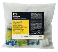 6x7,5ml UV-Lecksuchmittel Kontrastmittel KFZ-Klima R134a R1234yf Einfülladapter