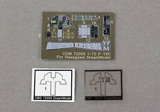 Dream Model 1/72 #72009 Cockpit Color Etching Parts for F-15C Eagle (Hasegawa)