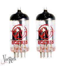 JJ ECC83 12AX7 7025 Pre amp Tube set  2 ECC83S VALVES