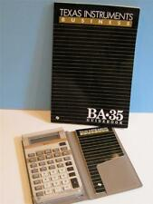 VTG TEXAS INSTRUMENTS Calculator CASE, BOTH INSTRUCTION BOOKS Works Great!