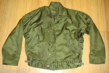 Vtg US NAVY A-1 Cold Weather Jacket Stencil DOGFISH Impermeable Deck Coat