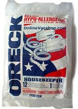 6 Pack Genuine Oreck XL Buster B Canister Vacuum Bags PKBB12DW