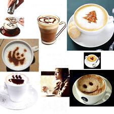16 verschiedene Modell Form Barista Schablonen Kaffee Girlande Torte Dekoration