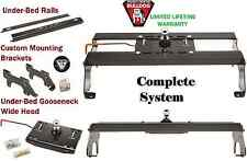 BULLDOG COMPLETE UNDERBED GOOSENECK TRAILER HITCH KIT 03-12 DODGE RAM 2500 3500