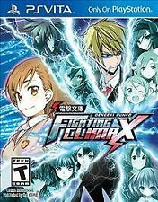 Dengeki Bunko: Fighting Climax Bundle Sony PlayStation PS Vita Game+Case