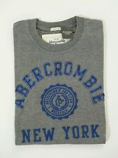 Abercrombie & Fitch Old Classic Mens T shirts Gray Medium