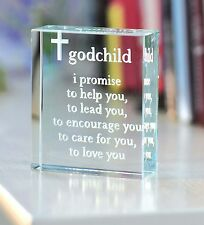 Spaceform Christening Gift Ideas Glass Keepsake Godchild Godparent Baptism 1794