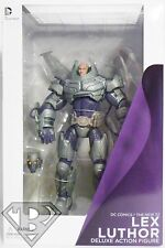"ARMORED SUIT LEX LUTHOR DC Comics Villains The New 52 9"" inch Deluxe Figure 2014"