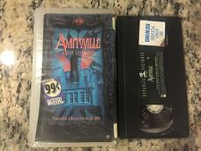AMITYVILLE A NEW GENERATION OOP VHS! 1993 HAUNTED HOUSE DEMONIC HORROR MIRROR!