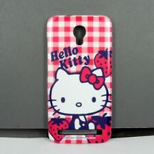 For Alcatel One Touch idol 2 Mini S Hello Kitty TPU Phone Case Screen Protector