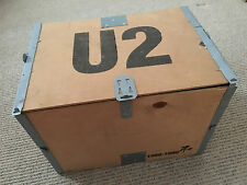 U2 - The Best Of 1980 - 1990 - Ultra rare 1998 promo army helmet in wooden crate