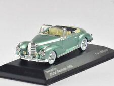 WhiteBox Mercedes 300 SC Roadster 1956 light green met. 1:43 (WB115)