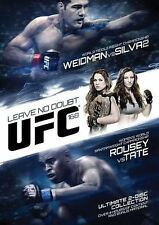UFC 168: Weidman vs. Silva 2 (DVD, 2014, 2-Disc Set) Rousey vs Tate