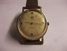 original DDR Kult UMF Ruhla Uhr Herren Armbanduhr 7 Jewels Handaufzug läuft