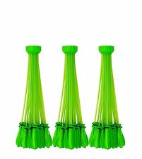 Bunch o Balloons 100 Water Balloons Green Already Tied! 3 Adapters