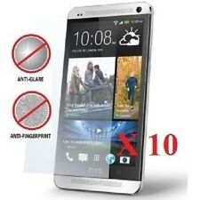 10 X HTC One (M7) Anti-Glare (Matte) Screen Protectors & Free Cloth