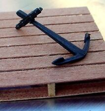 Boat Anchor Miniature w Drag Bar (S) 1/24 Scale G Scale Diorama Accessory Item