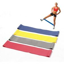 Tension Resistance Band Exercise Loop Crossfit Strength Weight Training  RED