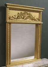 FRENCH Accent  MIRROR  ~ For  BARBIE  Fashion Doll ~Hndcft ~ 1:6 scale ~ Diorama