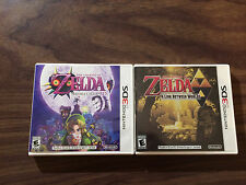 The Legend of Zelda: A Link Between Worlds + Majora's Mask (Nintendo 3DS LOT)