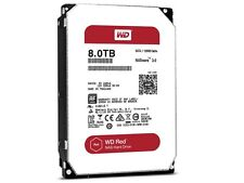"WESTERN DIGITAL WD RED HDD WD80EFZX 8TB 128MB SATA 3.5"" HARD DRIVE"