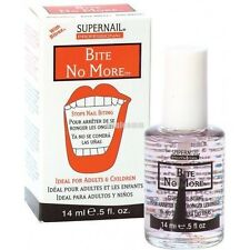 SUPERNAIL BITE NO MORE 0.5 oz - STOPS NAIL BITING - Ideal for Adults & Children