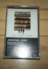 "Music from ""Scream for Help""- soundtrack- John Paul Jones- Cassette SEALED"