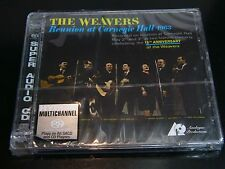 The Weavers Reunion at Carnegie Hall 1963 Hybrid SACD CD NEW
