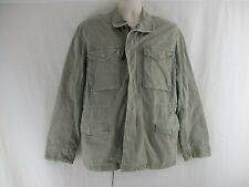 JAMES PERSE Lightweight Anorak Utility Jacket Greenstone  $475  Size 1    SX1