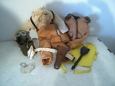 GI Joe WWII US Army Air Force Tuskegee fighter pilot uniform accessory lot
