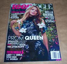 Teen Vogue Magazine April 2015 BELLA THORNE