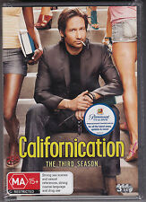 Californication - The Third Season - DVD (PAL Region 4 Brand New Sealed)