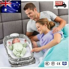 Baby Snuggle Nest Surround XL Infant Sleeper Travel Music Cot Crib Bed 95*33cm