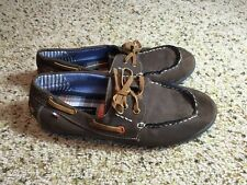 Tommy Hilfiger Men's Casual Shoes Moccasins Loafers Size 5 Brown Suede Ked