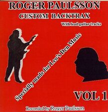ROGER PAULSSON'S 'SHADOWS STYLE' BACKING TRACKS CD  Vol.1   With & without lead.