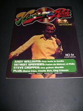 1975 HISTOIRE DU ROCK MAGAZINE # 51 ANDY WILLIAMS AND MORE IN FRENCH