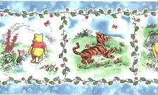Disney Classic Winnie The Pooh with Friends Wallpaper Border Kids Room Decor