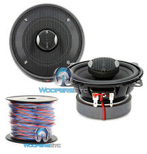 "pkg FOCAL IC-100 PRO 4"" CAR 2-WAY COAXIAL SPEAKERS + TRUE 16 GAUGE 50 FT WIRE"