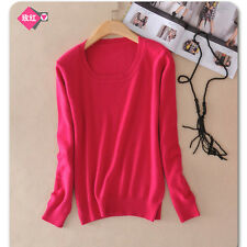 Fashion Women's High quality Casual woolen cashmere Sweater pullover Winter New