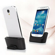 Dual Sync Battery Charger Cradle Dock Station Stand for Samsung Galaxy S4 i9500