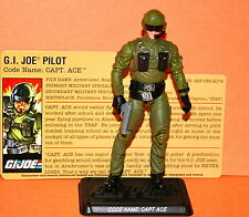 GIJOE 25TH CAPT. ACE TOYS R US EXCLUSIVE LOOSE COMPLETE